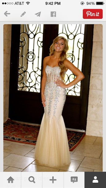 dd4315ef84740 prom dress dress prom dress prom gown style evening dress sparkly dress  silver dress jovani prom