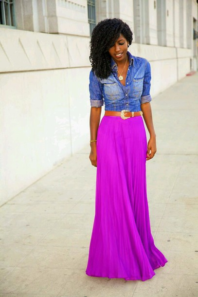 jacket denim jacket jeans blue skirt purple dress pink dress magenta maxi dress maxi skirt style fashion summer dress hippie gypsy hippie boho dress bohemian shirt dress