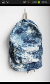 bag,backpack,acid wash,denim backpack,grunge wishlist,blouse,marble,denim,blue,white,indie,tie dye,clouds,light blue,sky,sky blue,blue white acid wash backpack,dope,girl,boy,cool,beautiful bags,underwear,bagback,swag,tumblr backpack,blue white blochy,unisex,unisex backpack,tumblr,vintage,style,blue bag,jeans,washed-out,tye dye denim backpack,school bag,blue & white,back to school,galaxy print bag,clothes,sea,ocean design,denin,grunge,tumblr bag,blue and white,galaxy print,zip,stylish,girly,mix,backbag,punk,fashion,urban,hipster,bookbag,cute bag,ocean,casual,bleu,blanc