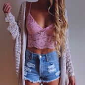 shorts,denim,denim shorts,short,ripped jeans,jeans,shirt,top,tank top,fall outfits,cozy,bustier,corset top,bra,bralette,cropped,crop,print,lace up,jacket,blouse,cardigan,coat,crochet,classy,style,hot,cut off shorts,cut offs,t-shirt,High waisted shorts,cozy jacket,floral tank top,winter jacket,knitted cardigan,knitwear,streetwear,streetstyle