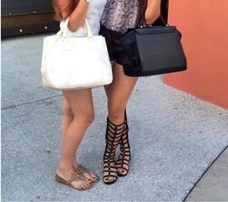 shoes black gladiators