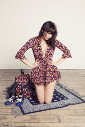 dress,floral,pink,floral dress,cute dress,daisy lowe