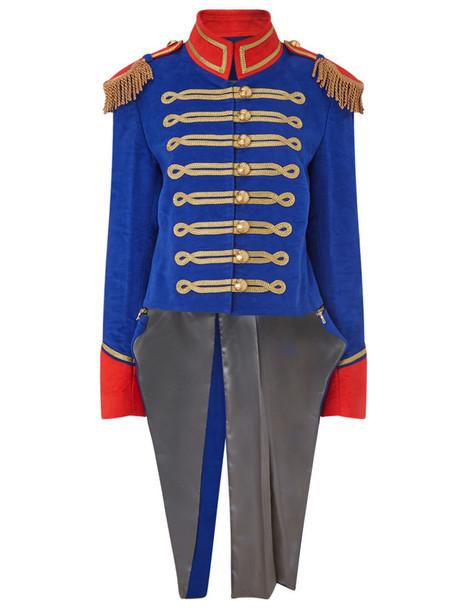 Pinky Laing jacket blue royal blue