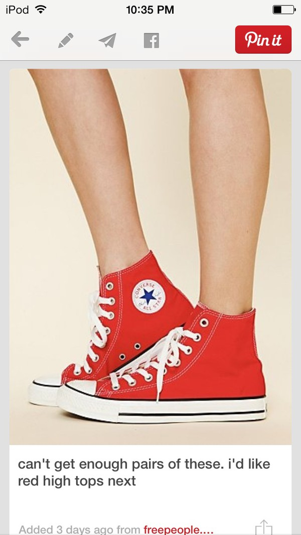 shoes converse high tops high top converse red converse chuck taylor all stars