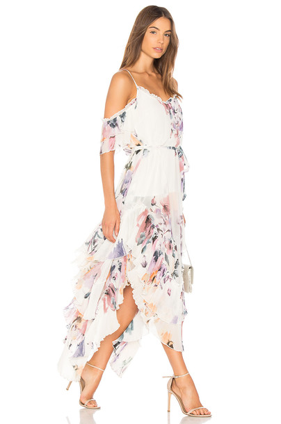 We Are Kindred dress maxi dress maxi white