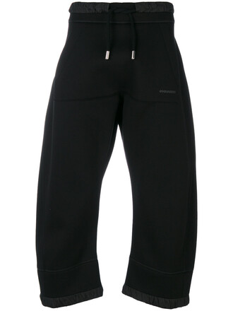 pants women spandex black