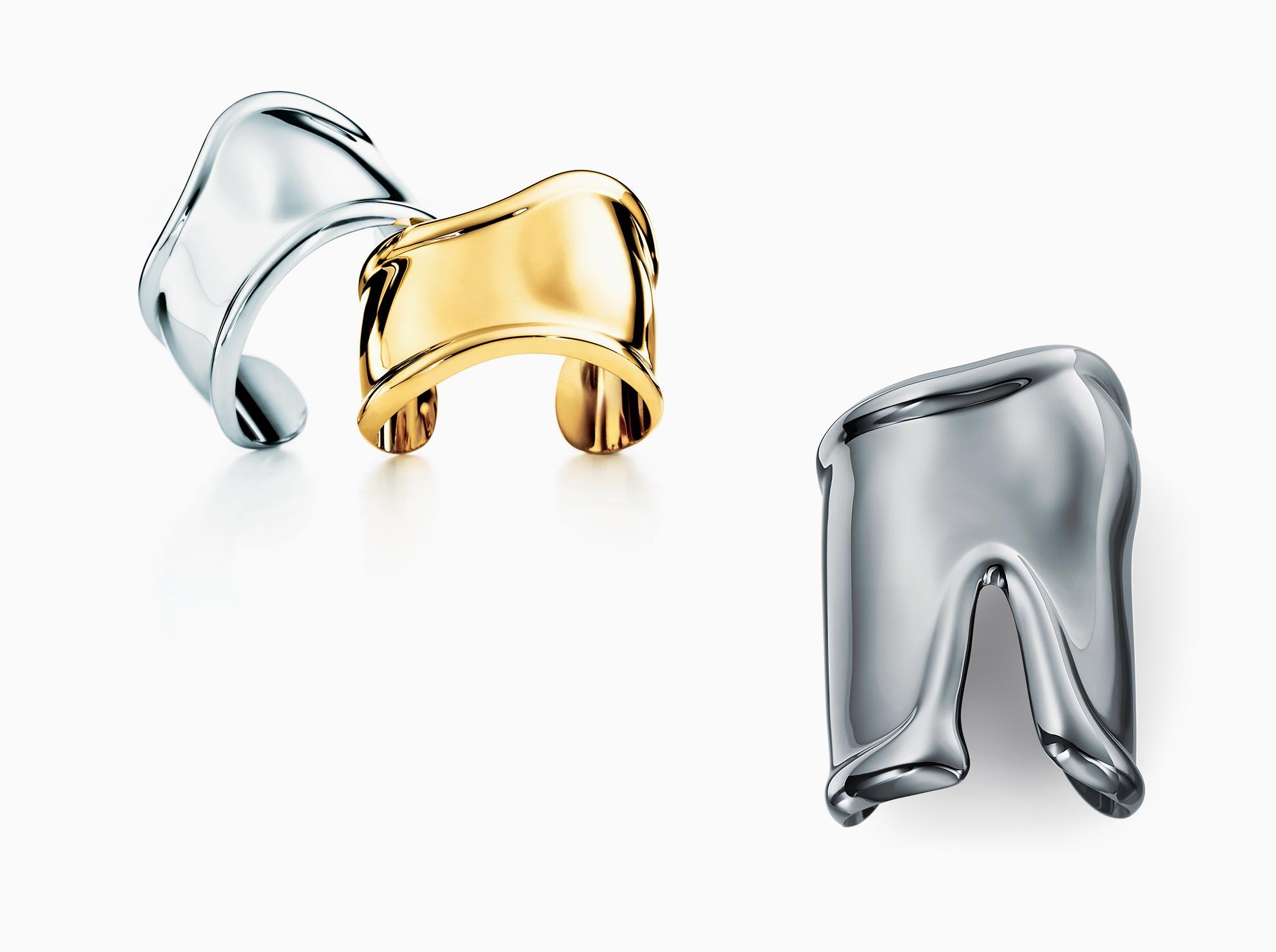 2c2193d44 Elsa Peretti® Bone cuff in sterling silver, medium.   Tiffany & Co.