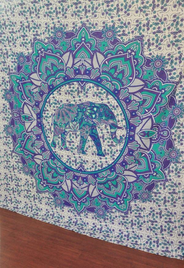 elephant tapestry tapestries magical thinking wall hanging beach throw