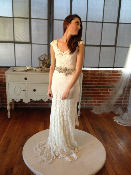 dress ivory wedding dress