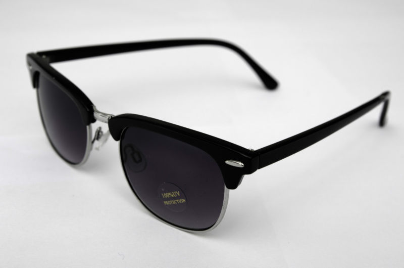 wayfarer clubmaster  Black Wayfarer Clubmaster Men\u0027s Women\u0027s Sunglasses Retro/Vintage ...