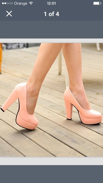 shoes beige shoes style cute high heels