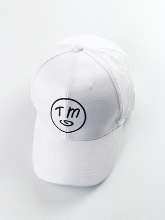 hat white cap fashion style trendy cool teenagers logo summer sporty casual zaful