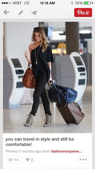 ashley tisdale shirt black shirt one sleeve flouncy bag