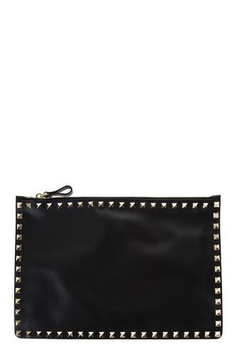 leather clutch clutch leather black black leather bag