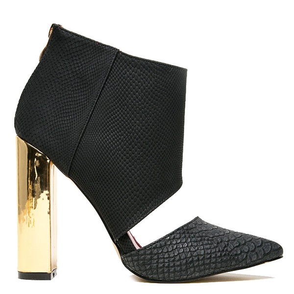 booties ankle boots black booties cut out ankle boots