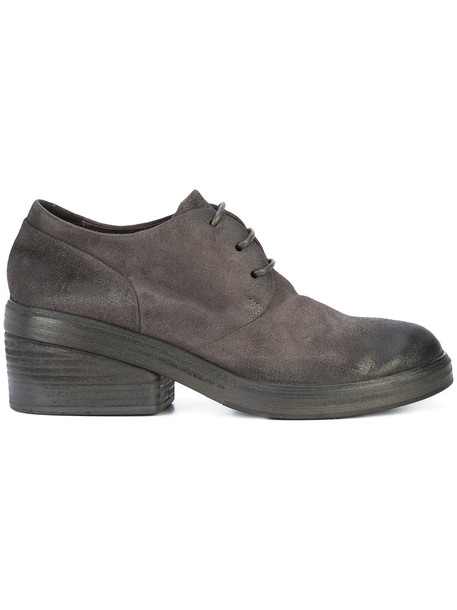 Marsèll women shoes lace-up shoes lace leather grey