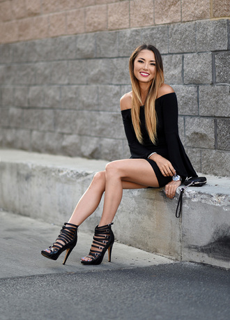 hapa time blogger sexy shoes off the shoulder