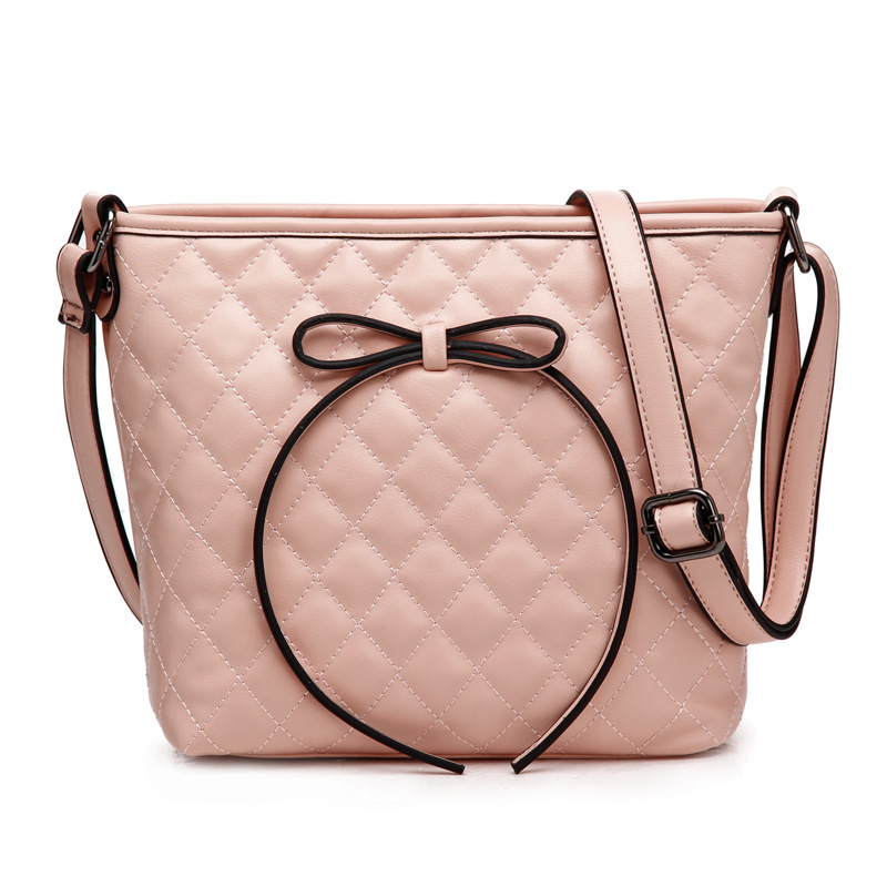 New arrival fancy bow knot gentle women's shoulder bag: jewelhall.com