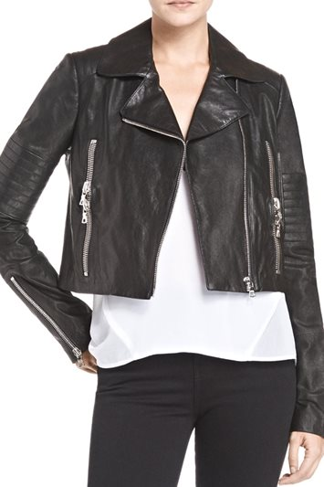 Aiah Leather Jacket | J Brand