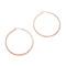 Jennifer zeuner jewelry small hoop earrings - rose gold