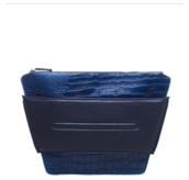 bag,combalt blue,clutch,handbag