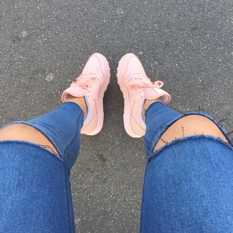 shoes pink shoes
