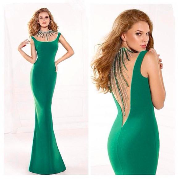 green dress women dress sexy dress beading dress evening dress celebrity dress fashion dress sale dress