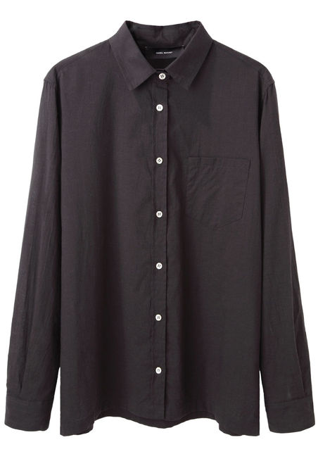 Isabel Marant  Candice Button Down Shirt  |   La Garçonne
