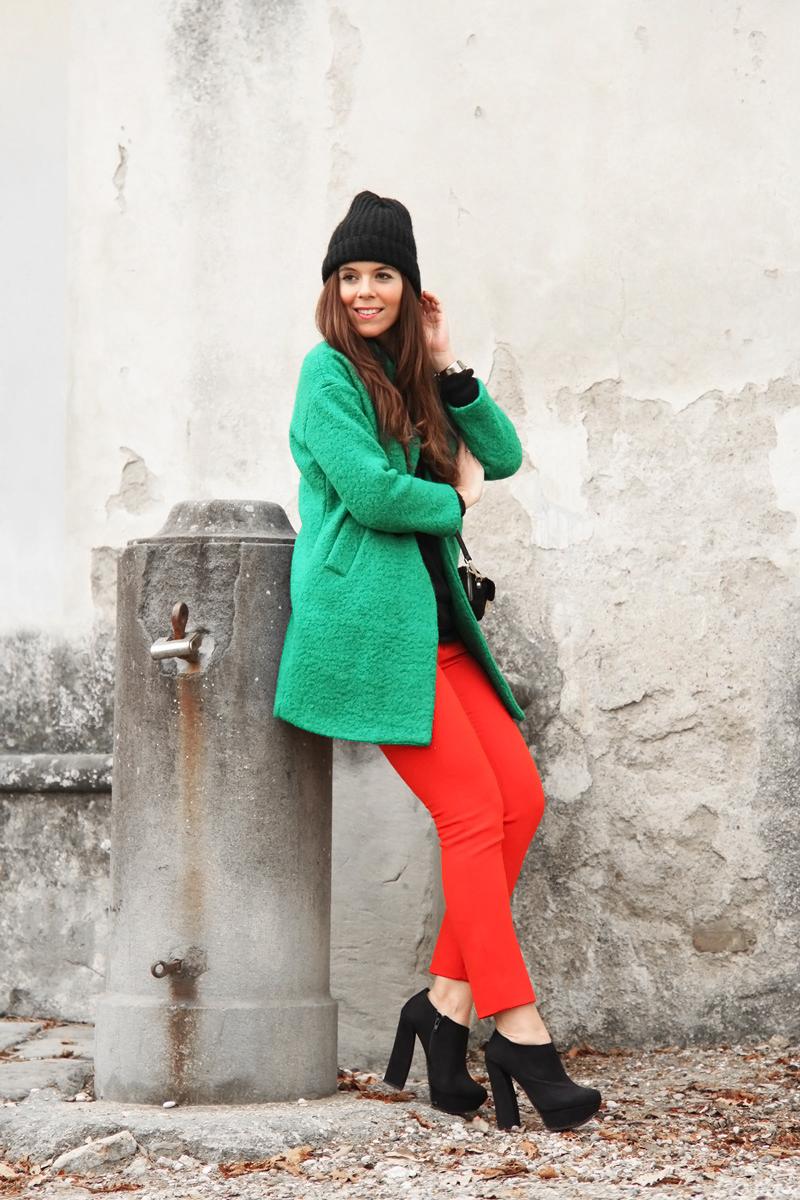 pantaloni rossi - Irene's Closet - Fashion blogger outfit e streetstyle