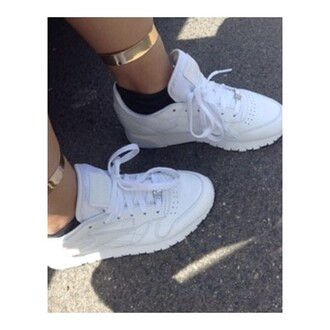 shoes white white sneakers white shoes dope dope ish jewels