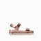 Platform sandal with track sole - flat sole sandals - shoes - trf - sale | zara united states