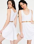 Drawstring Tank Dress | Dresses | Shop American Apparel