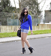 petit and sweet couture,sweater,shorts,shoes,jewels