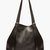 mm6 maison martin margiela black pebbled leather tote bag
