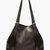 mm6 maison martin margiela black pebbled leather tote bag