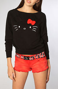 Vans x Hello Kitty Sweater Vu Sur Le Blog de Betty Taille M | eBay
