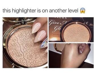 make-up highlight beautiful