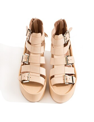 shoes gladiators wedge sandals tan wedges pixie market pixie market girl strap wedges spring wedges spring shoes summer shoes summer wedges buckle sandals jeffrey campbell