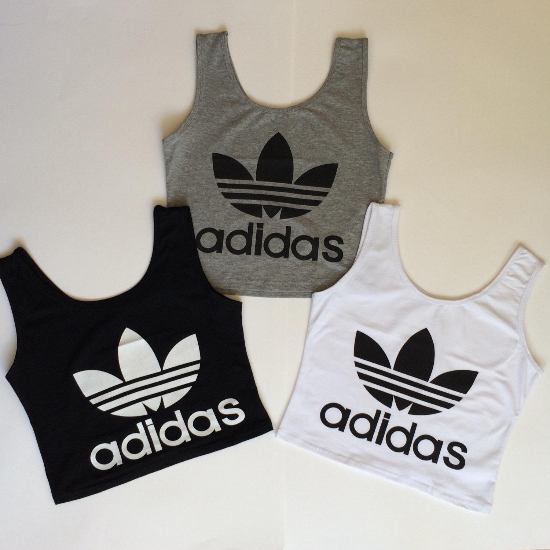 Adidas Reworked Crop Top Vest Cami K