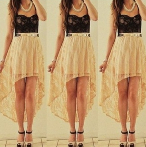 Cute hi low skirts pictures