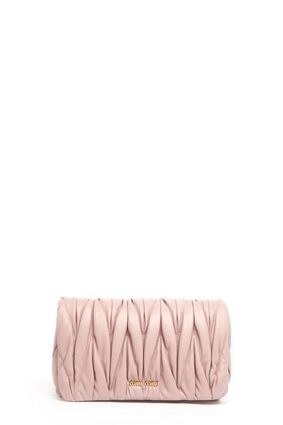 Miu Miu bag shoulder bag pink