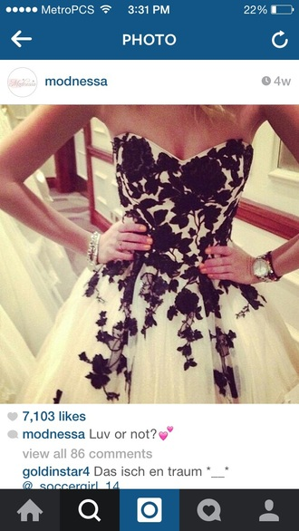dress prom dress prom gown black dress white dress floral dress