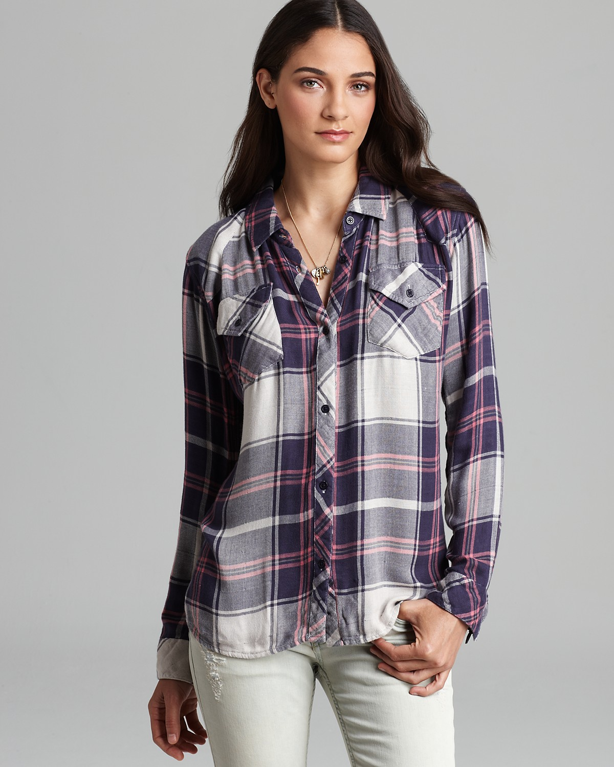 Rails Shirt - Kendra Plaid | Bloomingdale's