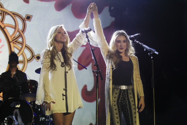 dress maddie and tae cream crochet babydoll bell sleeves