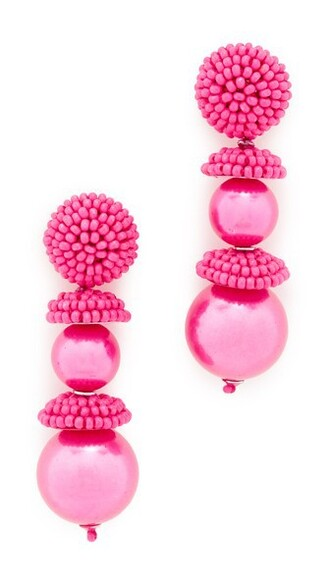 pearl earrings pearl beaded earrings jewels