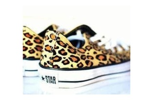 shoes leopard converse shoes converse flat