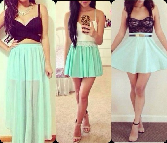 bustier top bralette Belt bra skirt corset glam style lace top maxi skirt skinny skirt high heels shoes denim skirt escarpins mini skirt little skirt little green one skirt smart skirt
