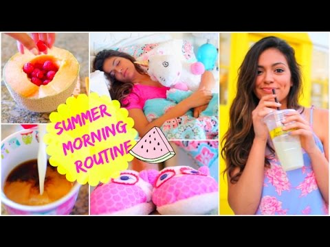 Morning Routine: Summer 2014! - YouTube