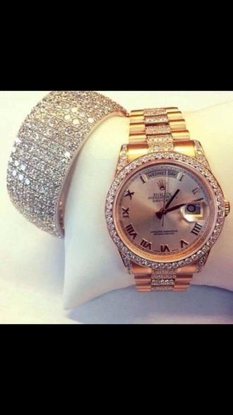 jewels rolex watch watch lovely beautiful