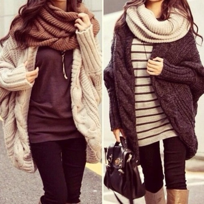 oversized sweater scarf the best oversized sweaters